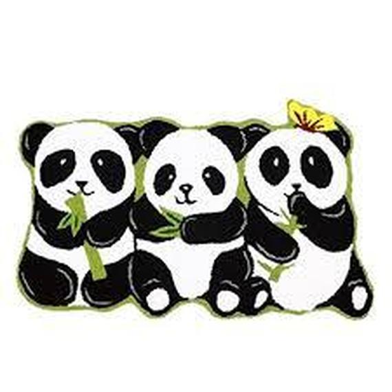 Les 3 petits pandas