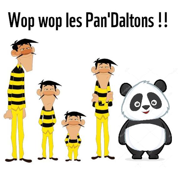 Les Pandaltons