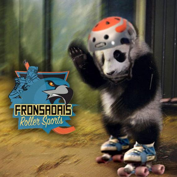 Fronsadais Roller Sports with Panda